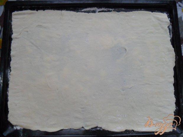 Рецепт Пицца на слоенном тесте