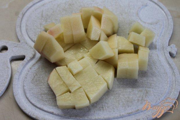 Борщ с фрикадельками и фасолью