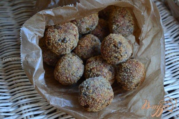 Закусочные шарики с чечевицей