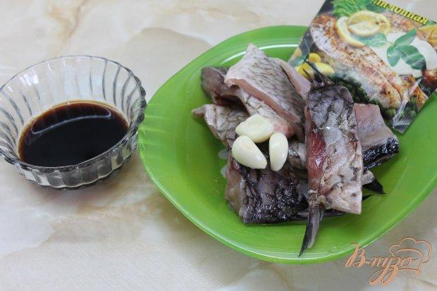 Рецепт Запеченный карась с грибами