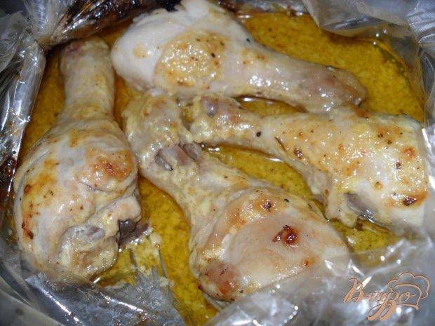 Куриные голени в майонезе