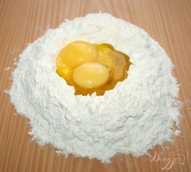 Домашняя паста с нутом и маслинами