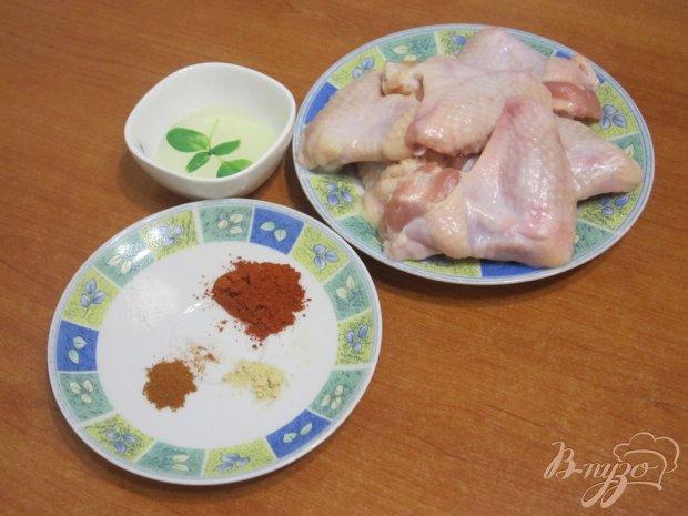 Рецепт Запеченные куриные крылья