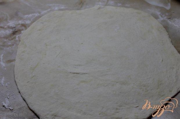 Лепешка с творогом и российским сыром