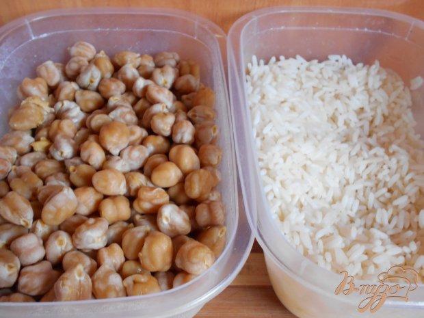 Рецепт Плов с мидиями и нутом