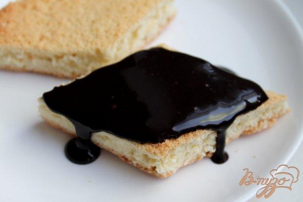 Бисквит в шоколаде