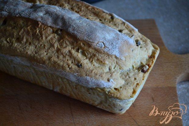 Луковый хлеб с каштанами