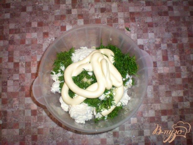Закуска из лаваша с творожной начинкой