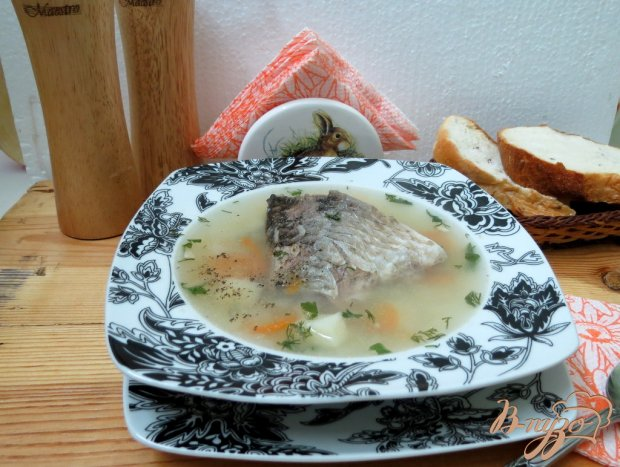 Суп с карасём