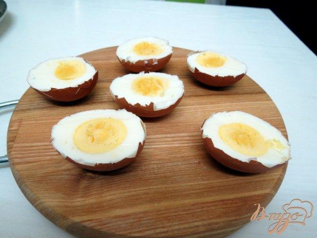 ���� ������������� � �������� (Jajka faszerowane w skorupce )