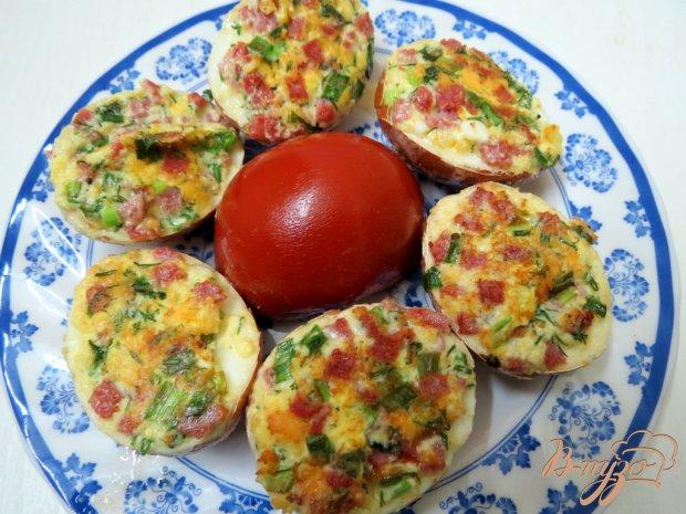 Яйца фаршированные в скорлупе (Jajka faszerowane w skorupce )