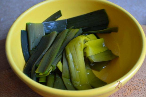 Рецепт Клецки с луком-пореем