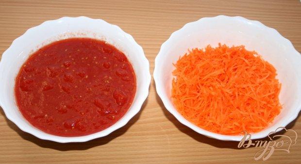 Хрустящий лосось с овощным соусом