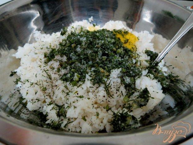 Щавелевый суп с рисовыми шариками