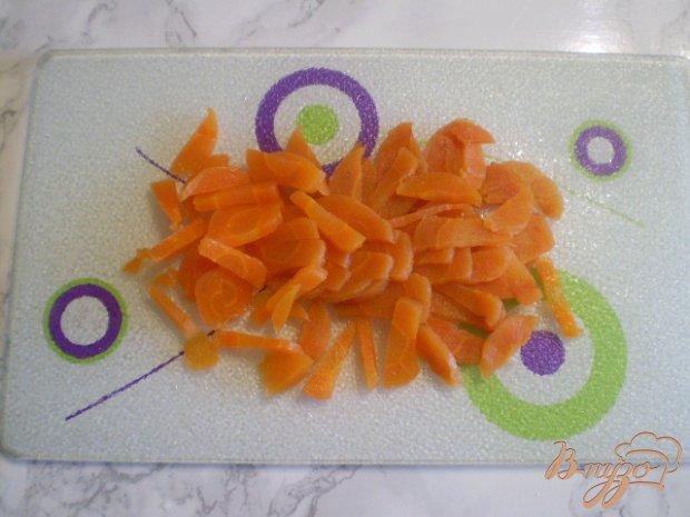 Морской салат с морковью и огурцом