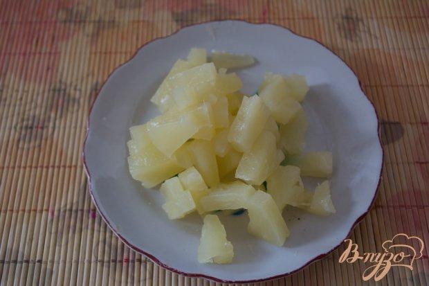"""Салат с ананасами """" Елена"""""""