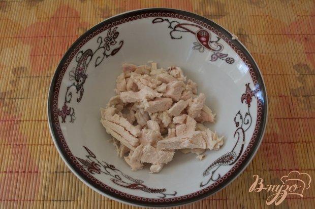 "Рецепт Салат с ананасами "" Елена"""