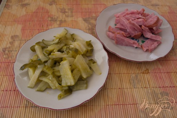 Рецепт Салат к праздничному столу на скорую руку