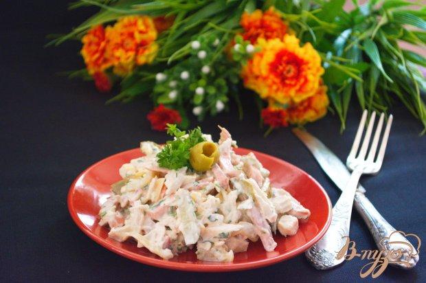 Салат к праздничному столу на скорую руку