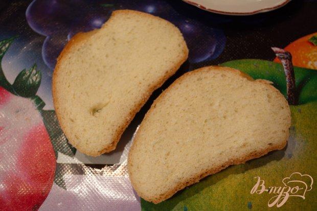 Гренки горячие с ветчиной и сыром