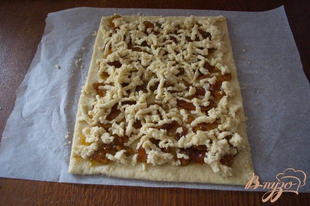 Кефирное печенье с вареньем из кабачков