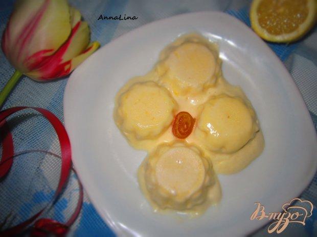 Сливочно-лимонный десерт в микроволновке