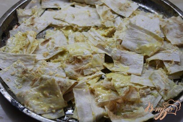 Чипсы домашнего приготовления с сыром