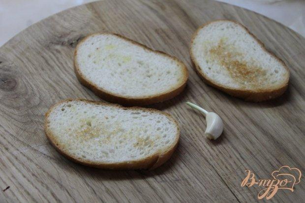 Чесночные бутерброды с грибами и сыром