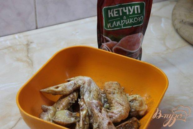 Куриные крылья к пиву с паприкой