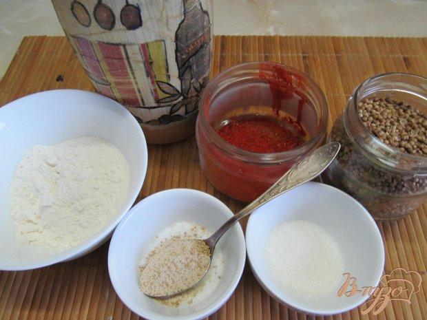 Рецепт Хлеб-улитка с паприкой и кориандром