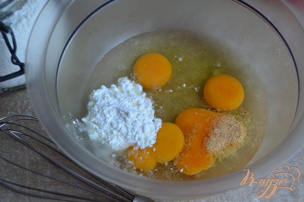 Салат с яичной лапшой