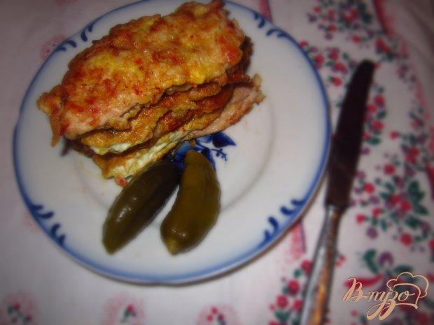 Отбивные в томатно-горчичном маринаде