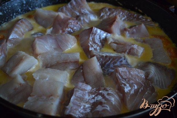 Овощное рагу с рыбой