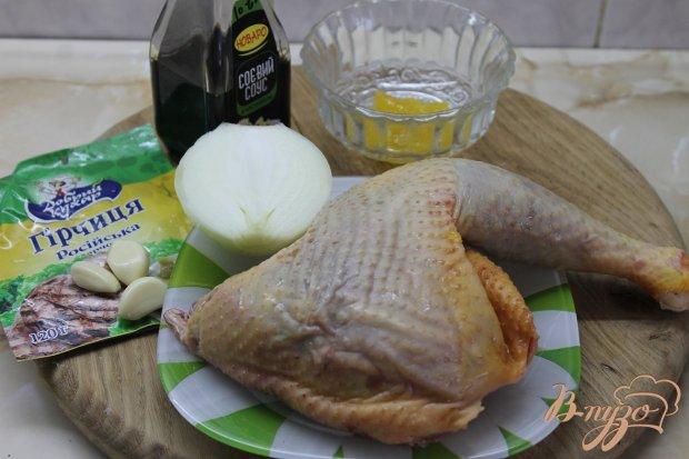 Рецепт Запеченная куриная ножка со специями
