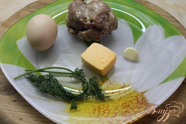 Рецепт Котлета с яйцом и сыром