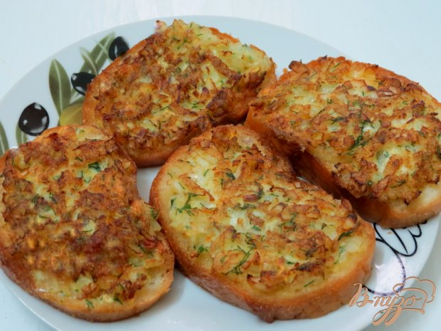 Бутерброды луковые