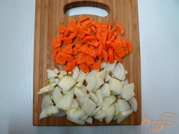 Картофель с копчёностями