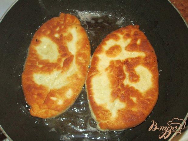 Пирожки с картошкой и фаршем на сковороде