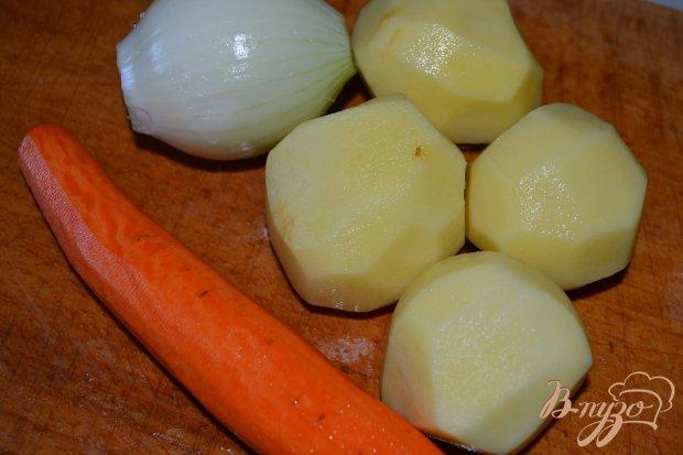 Гороховый суп-пюре с говядиной