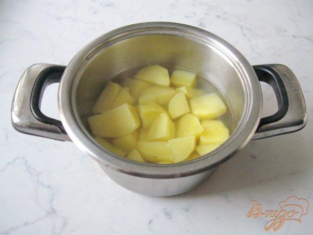 Рецепт Картофельные оладьи со сметаной.