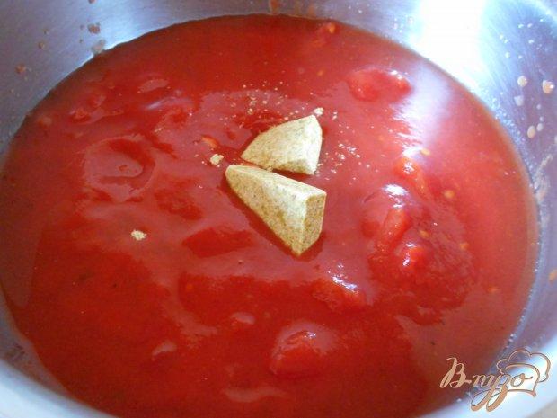 Рецепт Томатный суп-пюре по- средиземноморски