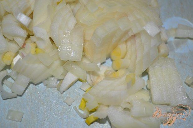Кукурузная каша с куриными сердцами в мультиварке
