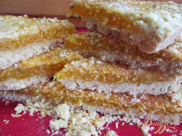 Пирог с мандариновой начинкой