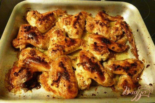 Куриные крылышки,маринованные с рыбным соусом