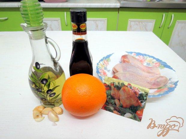 Куриные голени в апельсиновом маринаде