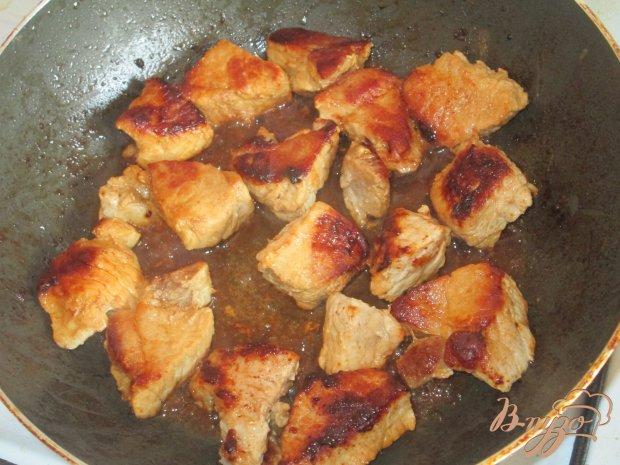 Рецепт Картошка тушеная со свининой