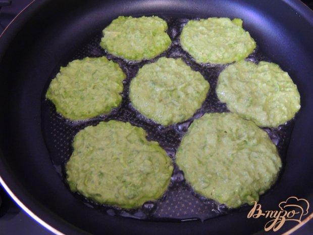 Оладьи из зелёного горошка