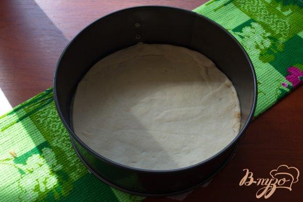 Рецепт Пицца с грибами, ветчиной и маслом