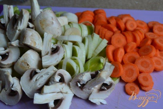 Куриное мясо с морковью и каштанами