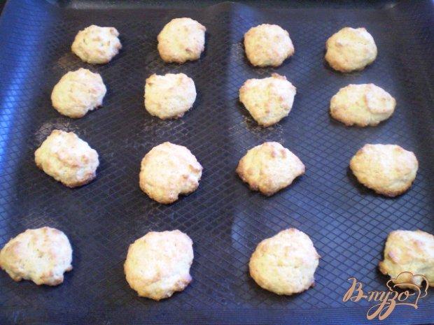 Печенье с тертым яблоком